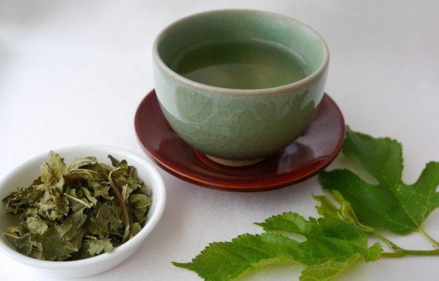 顔や脚のむくみをとる「桑の葉茶」